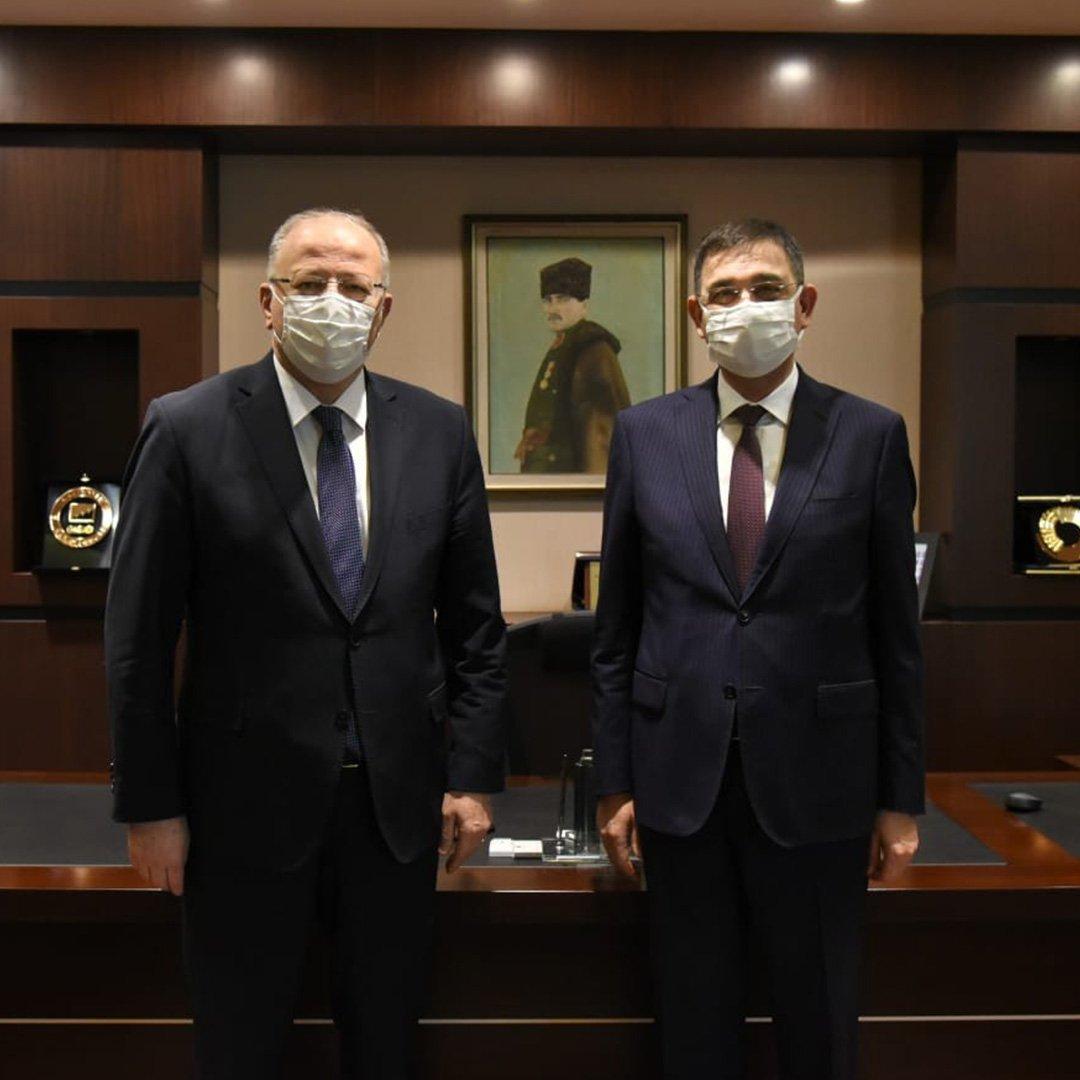 Milletvekili Koçer'den GSO'ya ziyaret