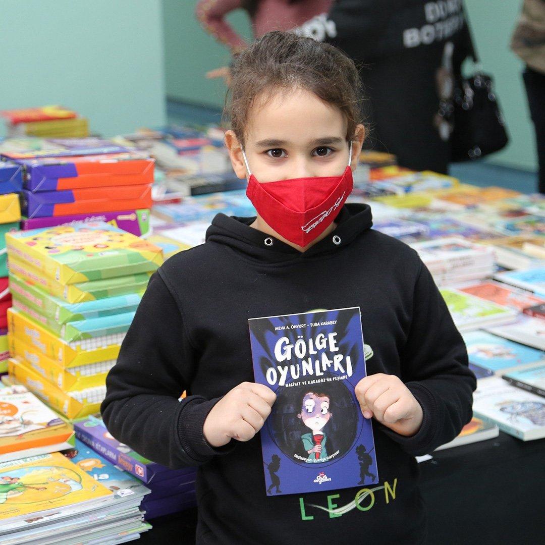 Mini Kitap Fuarı GKV'de açıldı