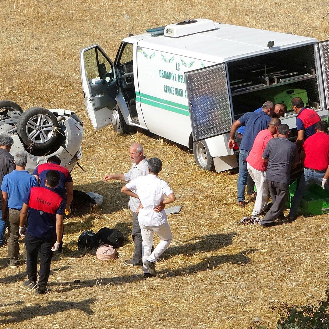 Osmaniye'deki feci kazada anne ve kızı hayatını kaybetti
