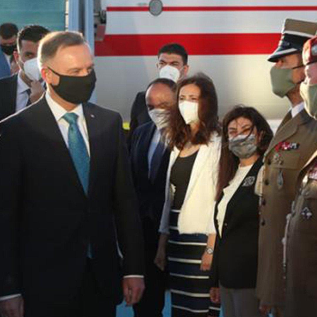 Polonya Cumhurbaşkanı Türkiye'de
