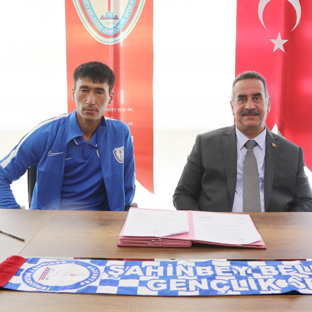 Şahinbey ampute takımından kaleci transferi