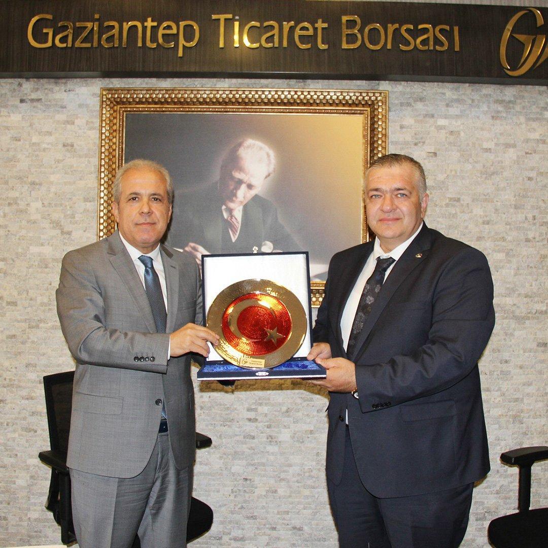 Şamil Tayyar'dan GTB'ye ziyaret