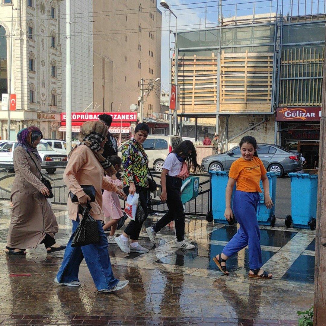 Şanlıurfa'da Ağustos yağmuru serinletti