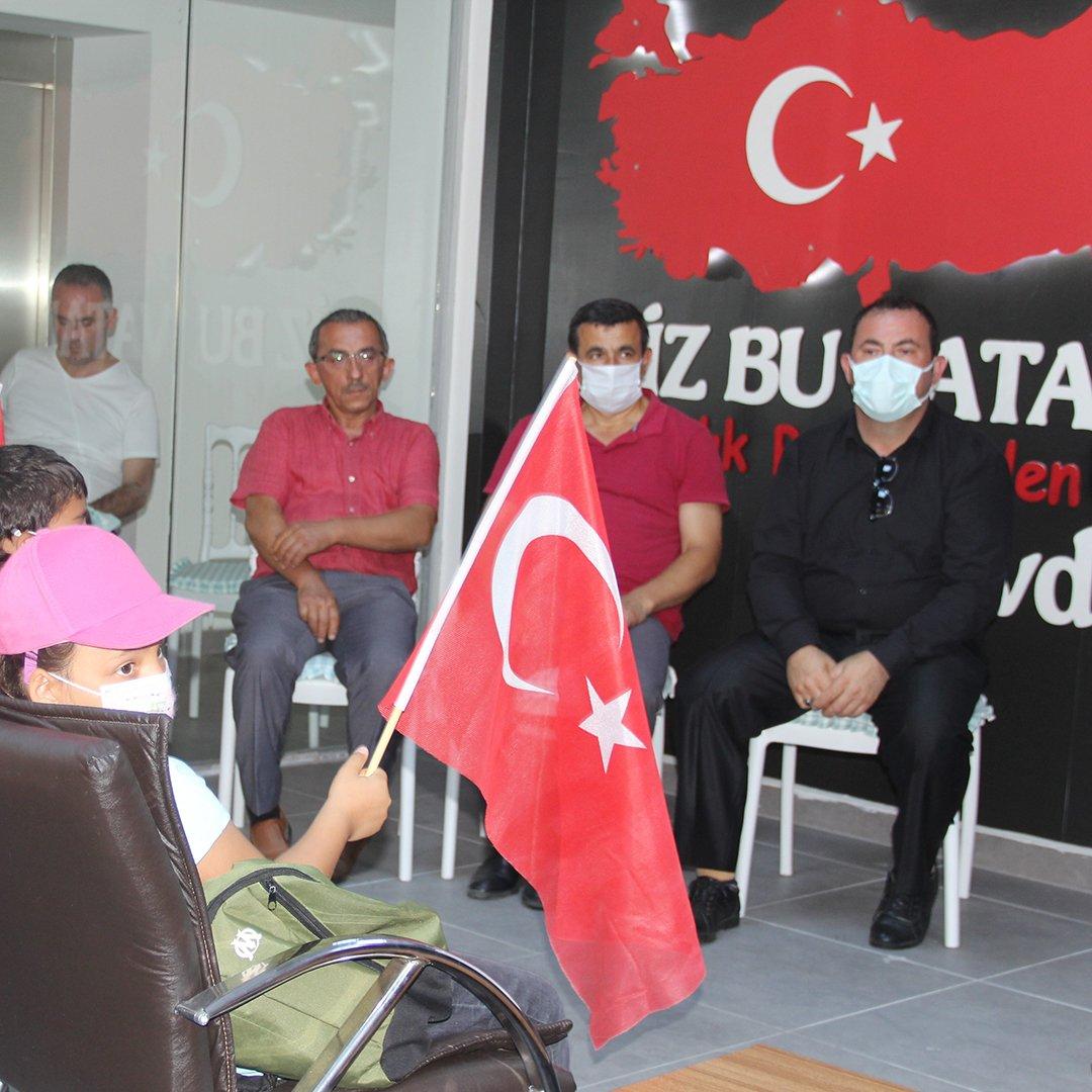 Sinop'ta gaziler çocuklarla bir araya geldi