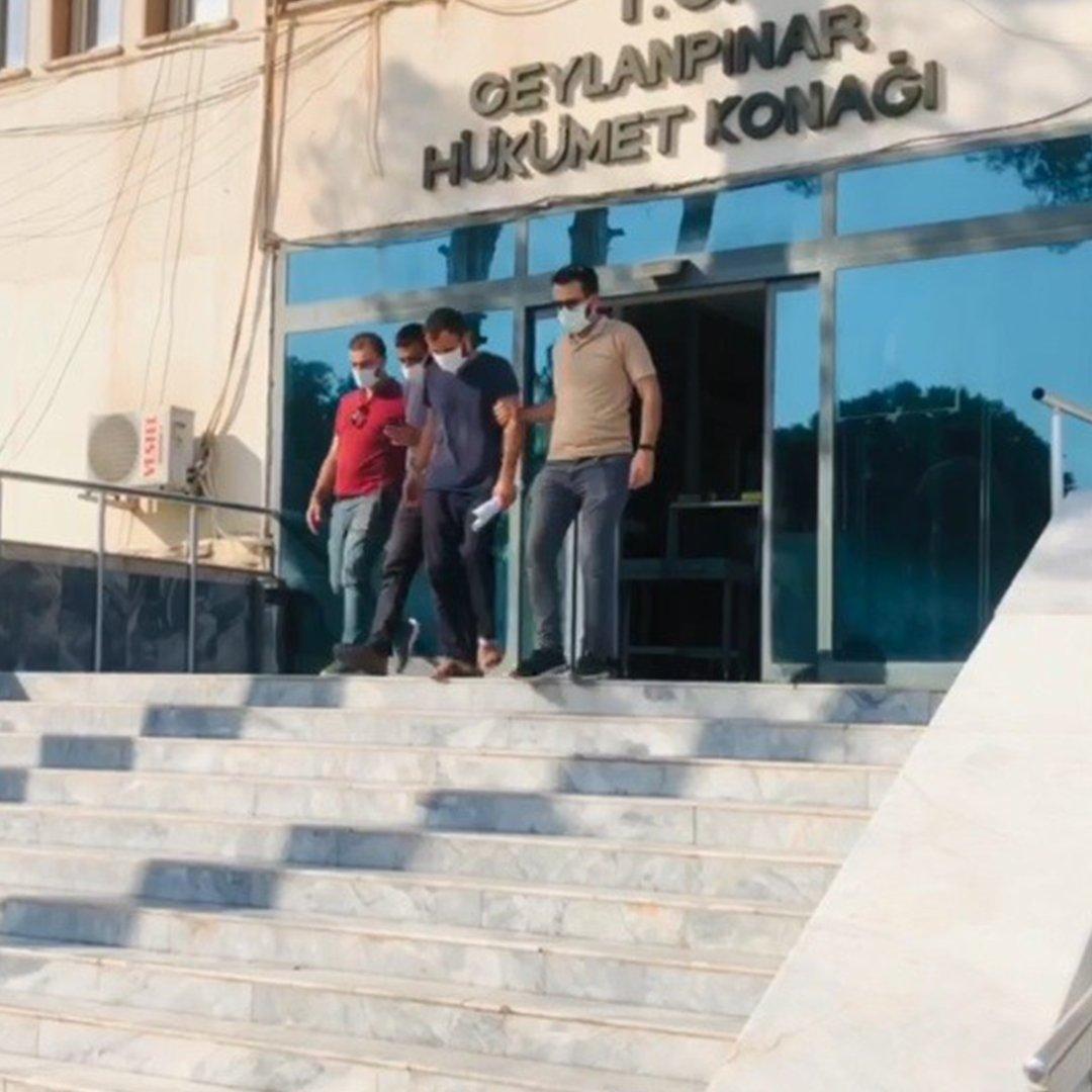 TİGEM'den fıstık çalan 2 zanlı tutuklandı