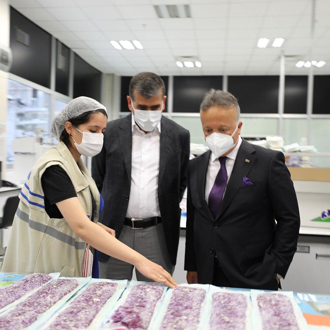 TİM Başkanı İsmail Gülle Altunkaya Üretim Tesislerinde inceleme yaptı