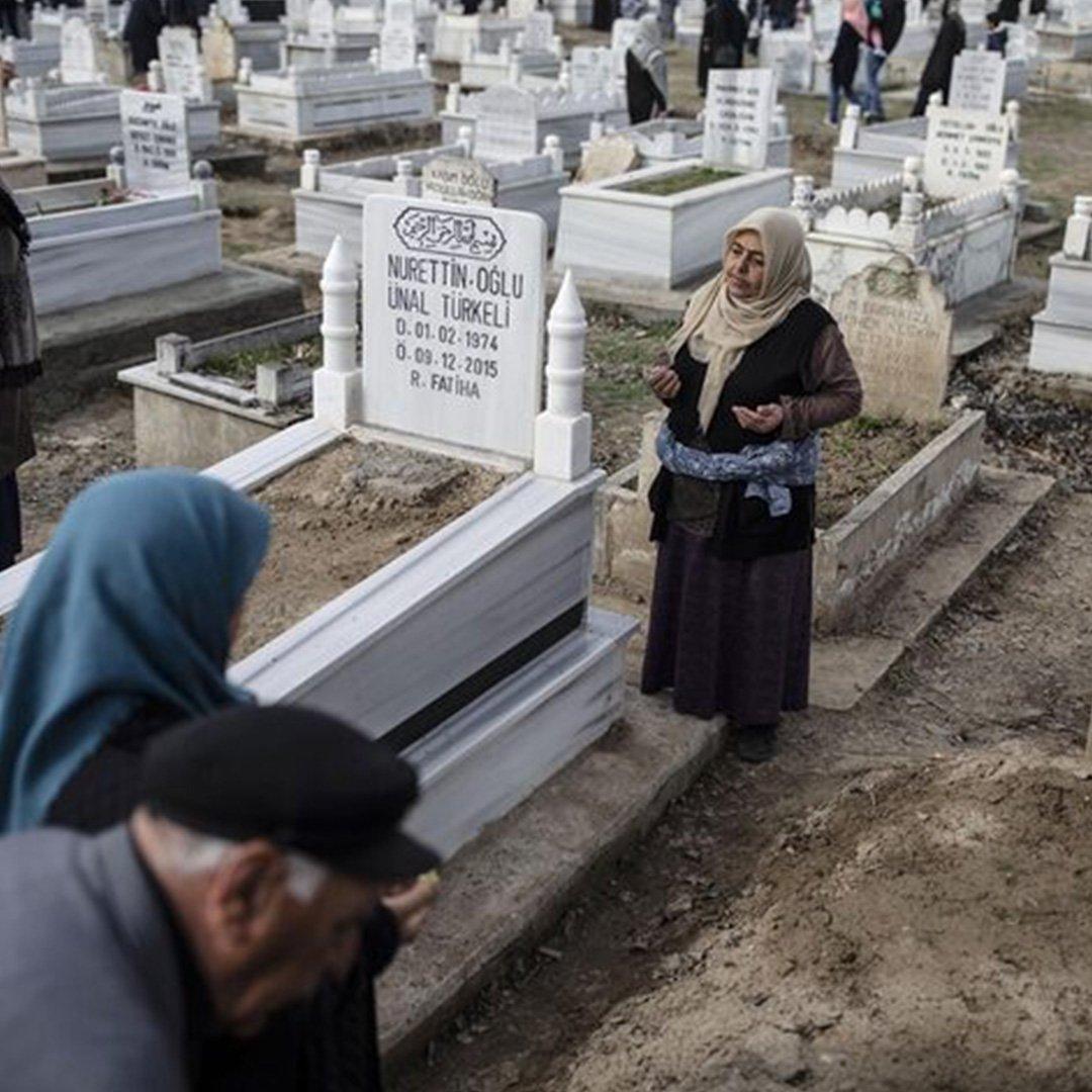Türkiye'de Ölüler Bayramı kutlanıyor