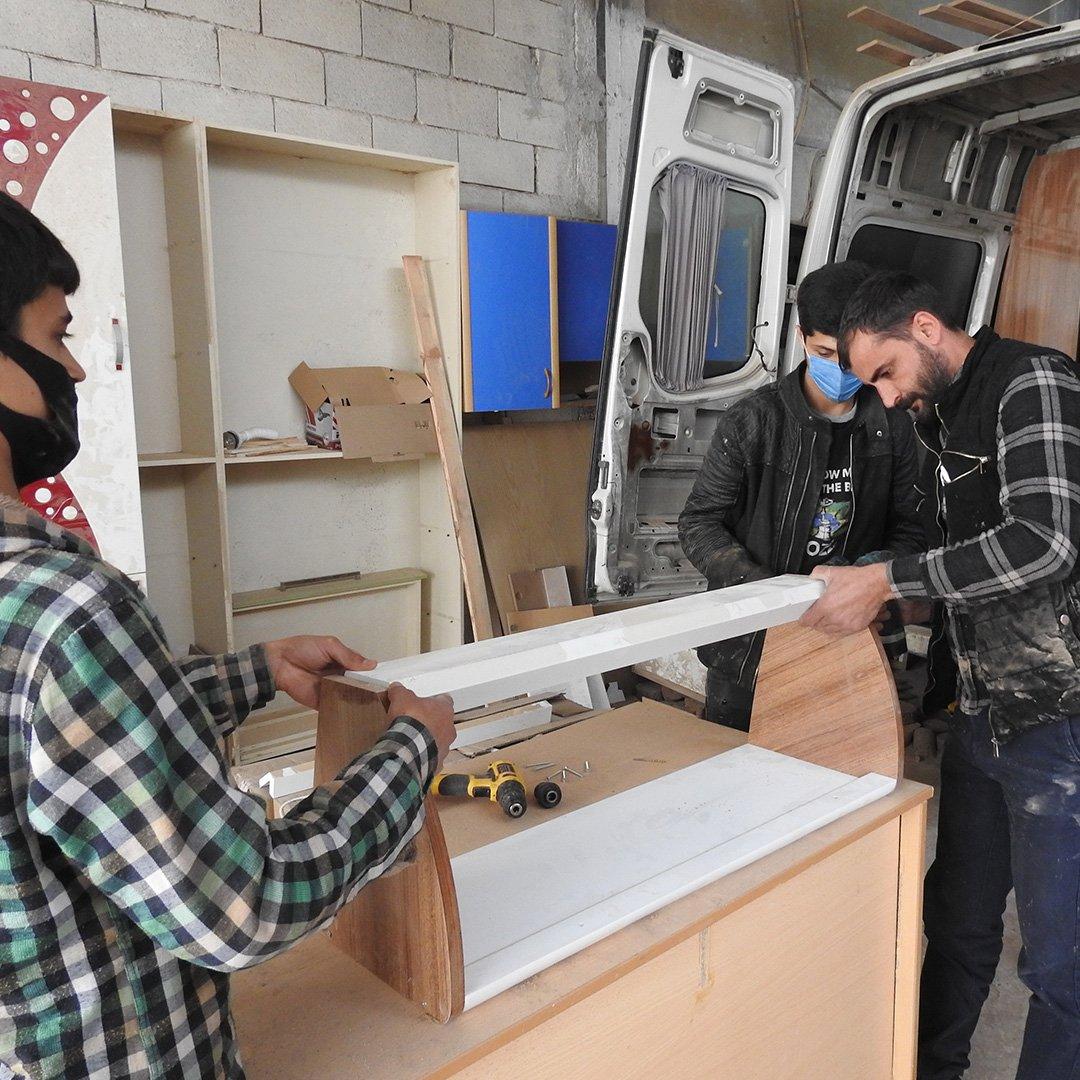 Ürettiği karavanları ABD'ye ihraç ediyor