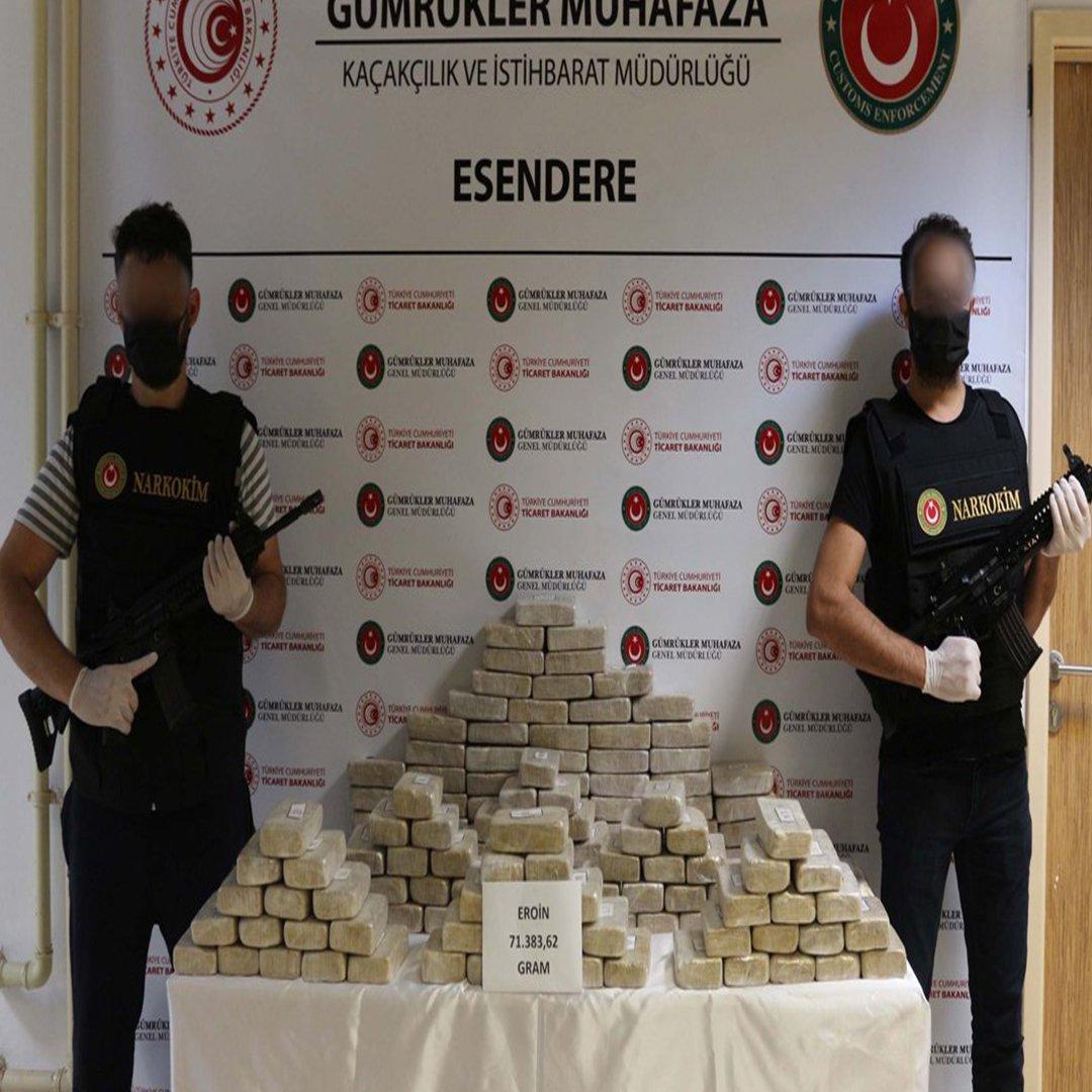 Yumurtalı pul biberli kokain kaçakçılığı
